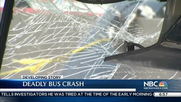 [BAY] State, Federal Investigations Underway Into Deadly Bus Crash in San Jose