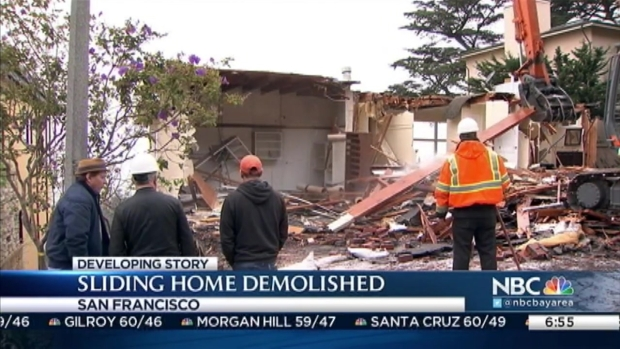 [BAY] Sliding House Torn Down in San Francisco
