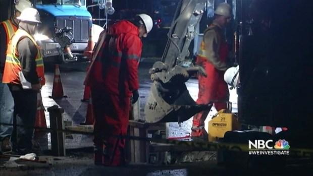 [BAY] PG&E Crews Go Door to Door to Restore Gas After Sinkhole Ruptures Line