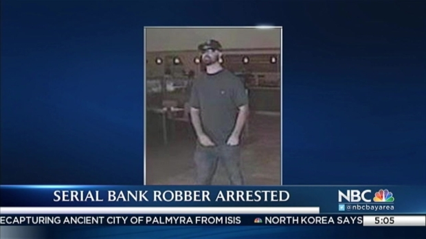 [BAY] 'Bearded Bandit' Tied to String of Bay Area Bank Robberies Arrested: Police