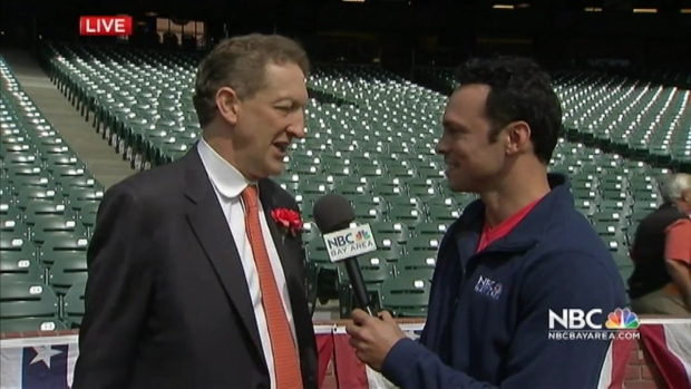 [BAY] SF Giants CEO Larry Baer Discusses Putting on a Baseball Game