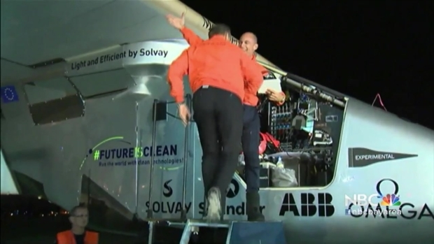 [BAY] 'A Miracle of Technology': Solar-Powered Plane Makes Historic Trip Across Pacific Ocean