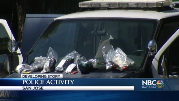 [BAY] San Jose Police SWAT Team Surround House; Break Windows, Confiscate Cash