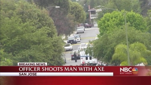 [BAY] San Jose Police Shoot Man Who Allegedly Attacked Mother With Ax