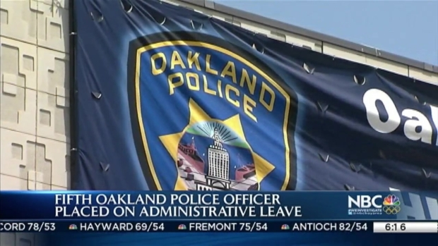 [BAY] Fifth Oakland Police Officer on Leave After Sex Scandal