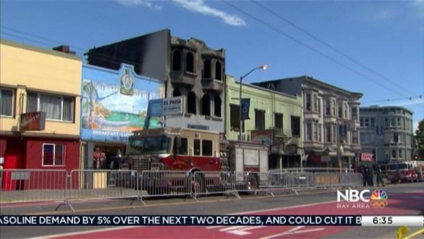 [BAY] Businesses Reopen After Devastating SF Fire, 58 Displaced