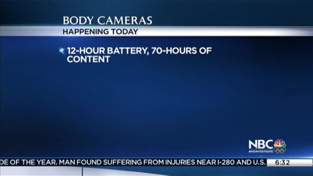 San Jose Police Debut Body Worn Cameras