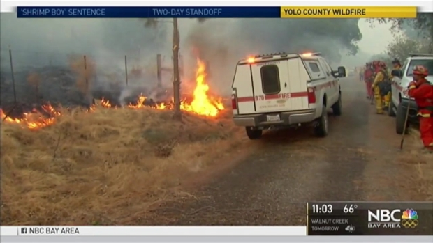 [BAY] Fire Evacuees Allowed to Return Home