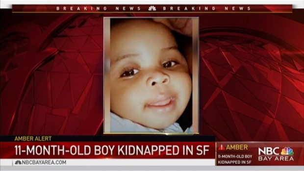 [BAY] Amber Alert Issued for 11-Month-Old San Francisco Boy