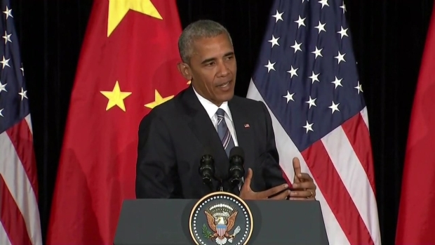 [BAY] RAW: President Obama Speaks About Colin Kapernick at G20 Summit