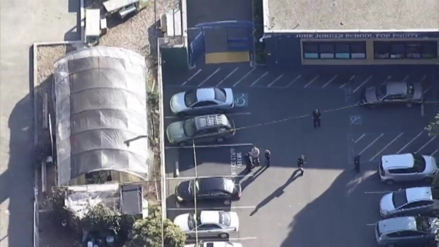 RAW VIDEO: SFPD Search for Suspects After 4 Students Shot Outside School