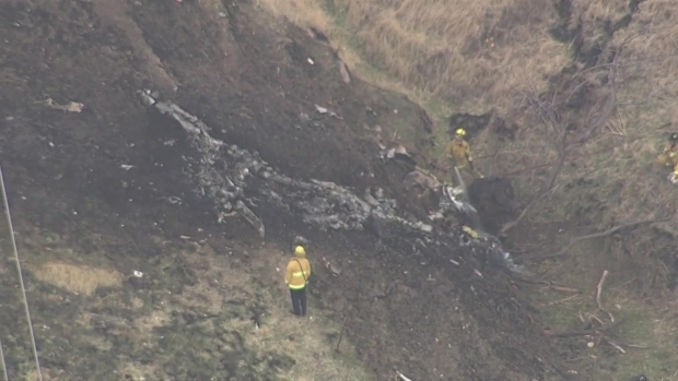 [BAY] RAW VIDEO: Authorities Investigate Fatal Plane Crash in Concord