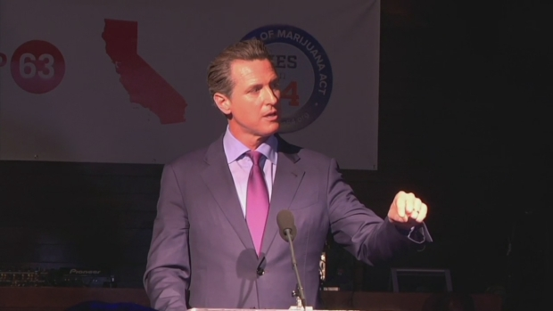 [BAY] Lt. Gov. Newsom: Proposition 64 Has Passed in California