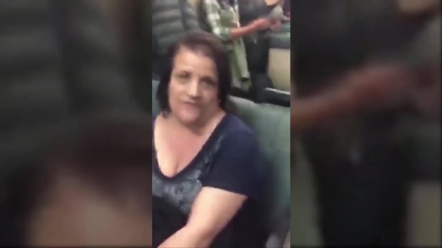[BAY] RAW: BART Passenger Racist Rant Caught on Cam