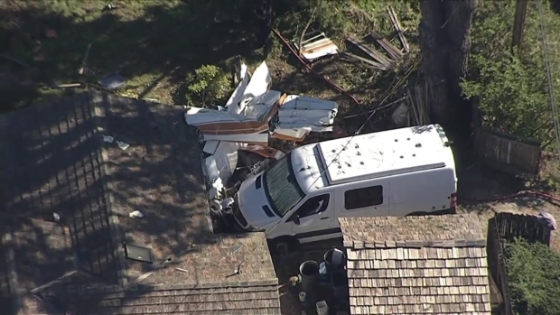 RAW: Small Plane Crashes Into House Near Half Moon Bay Airport