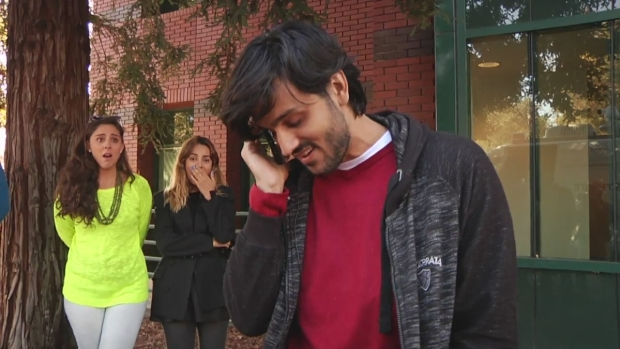 RAW: Stranger Gives $10,000 to Brazilian Family Hit by Car Thieves