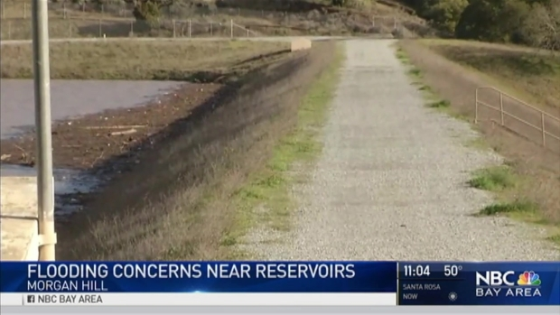 [BAY] Reservoirs Filling Up, Bay Area Prepares for Weekend Storm