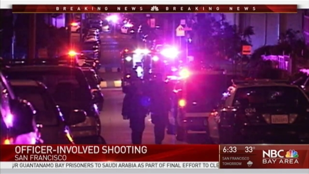 [BAY] Man Taken Away in Ambulance After Officer-Involved Shooting in San Francisco