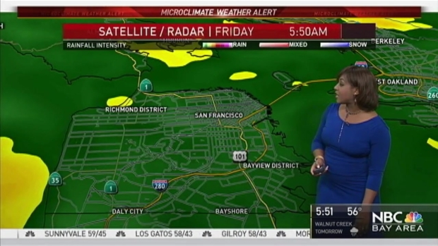 [BAY] Kari Hall's Friday Forecast: Microclimate Weather Alert