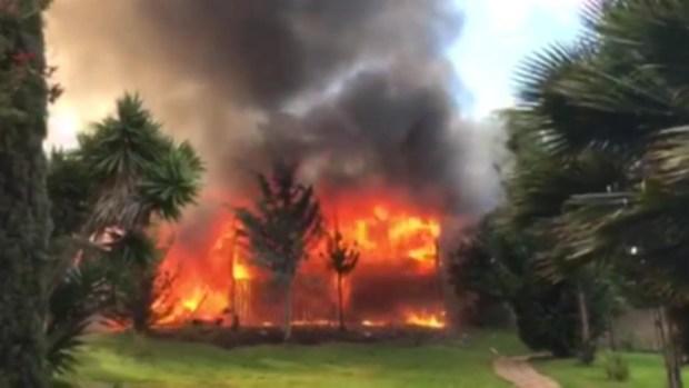 RAW: Raging Fire Engulfs Vallejo Motel