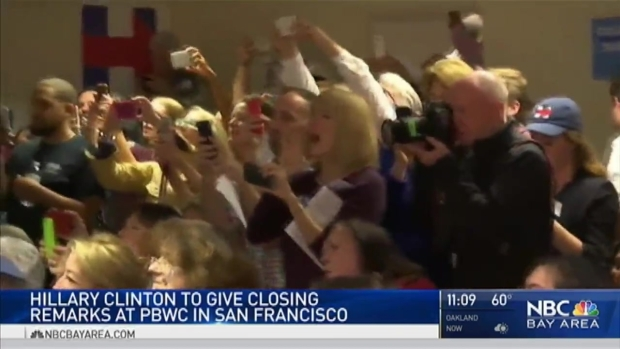 Hillary Clinton to Empower Women at Bay Area Businesswomen Conference