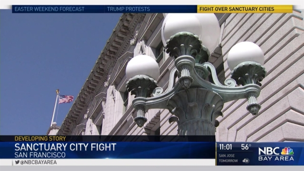 [BAY] Sanctuary City Battle Heats Up in San Francisco