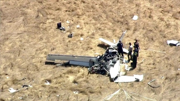 RAW: Crews Investigate Deadly Plane Crash in Sonoma County