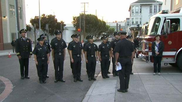 RAW: San Francisco Firefighters Pay Tribute to 9/11 Victims