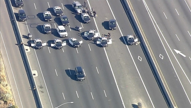 RAW: Police Standoff, Shooting Prompts Closure of Interstate 80 in Emeryville