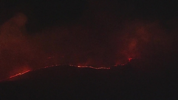 RAW: 42,000-Acre Atlas Fire Continues to Ravage Napa and Solano Counties