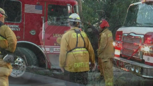 Contract Firefighter Killed After Water Tanker Crashes in Napa