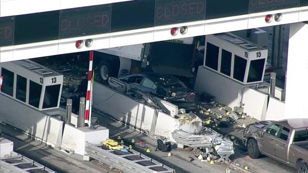 [BAY] RAW: Box Truck Driver Arrested After Fatal Bay Bridge Crash