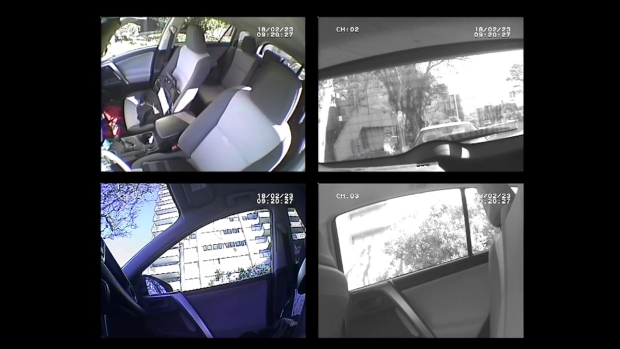 RAW: Hidden Surveillance Cameras Capture Auto Thieves in SF