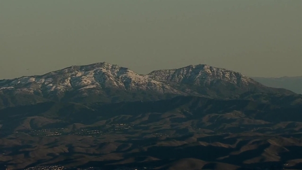RAW: Snow Blankets Bay Area Peaks