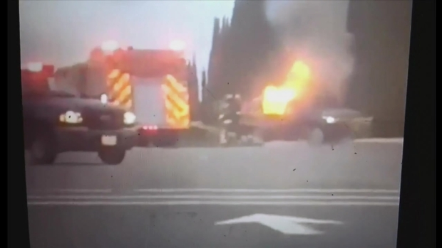[BAY] Unauthorized Vehicle Crash Inside Travis Air Force Base