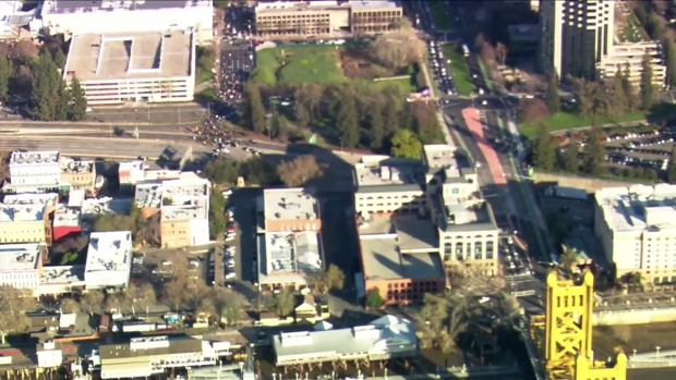 [BAY] RAW: Black Lives Matter Protest Blocks I-5 in Sacramento