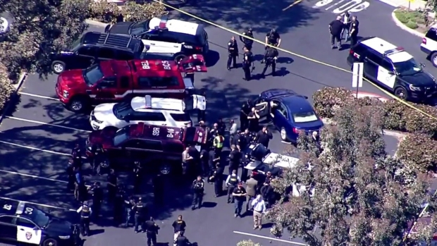 RAW: Police Respond to Active Shooter at YouTube HQ