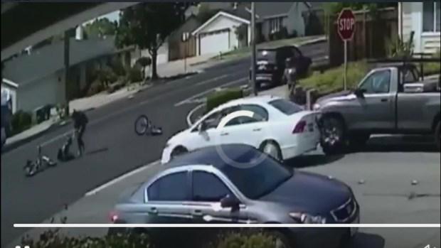 [BAY] RAW: Surveillance Video of San Jose Hit-and-Run