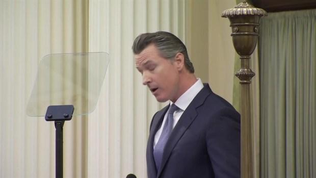 [BAY] RAW: Gavin Newsom Talks PG&E Backruptcy in State of State Address
