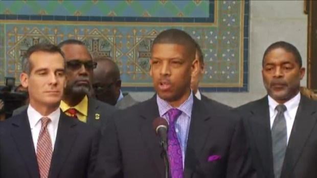 "[LA] Kevin Johnson: ""Zero Tolerance"" for Racism in NBA"