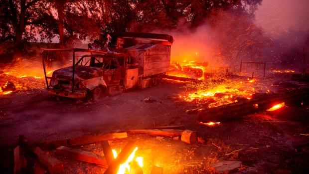 Kincade Fire Spreads as Gusty Winds Return