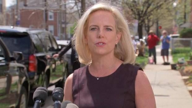 [NATL] Nielsen Says She Still Supports Trump's Border Goals