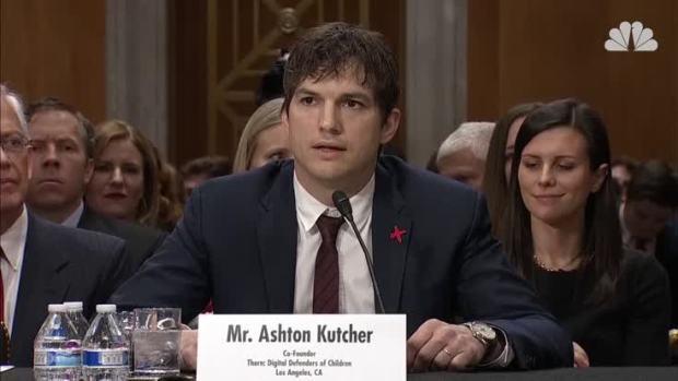 [NATL] Ashton Kutcher Testifies on Ending Modern Slavery and Human Trafficking