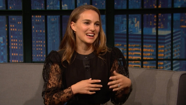 [NATL] 'Late Night': Natalie Portman Recorded Music With Sia