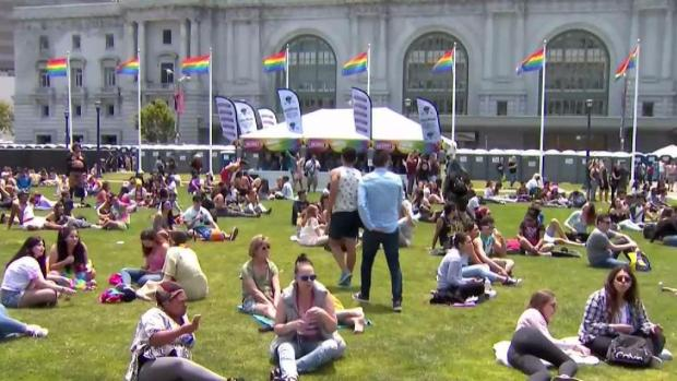 Pride Crowds Draw Tight Security Presence