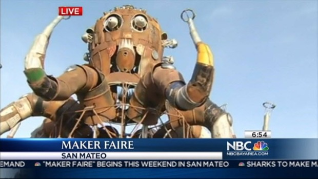 [BAY] Science Enthusiasts Gear Up for Maker Faire