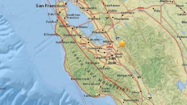 [BAY] Magnitude 3.8 Earthquake Rattles South Bay