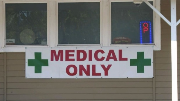 [NATL] Medical Pot Shrinks With Legalization