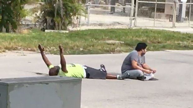 [MI-NATL] RAW: Video Shows Moments Before Man Shot by North Miami Police Officer