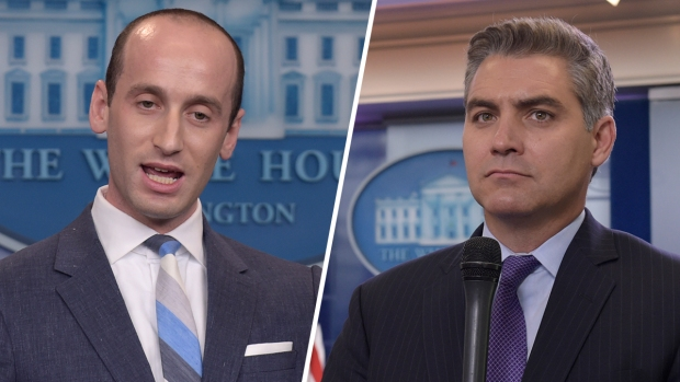 [NATL] WH, CNN Reporter Argue Over Proposed Immigration Bill